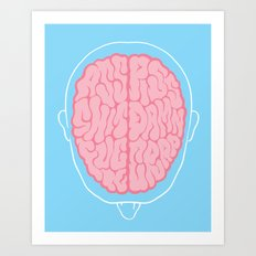 Dirty Mind Art Print