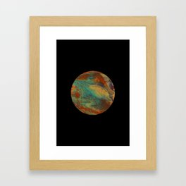 New Planet Framed Art Print