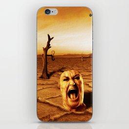 Gritos iPhone Skin