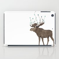 moose iPad Cases featuring Moose by Eleni Paper Co.