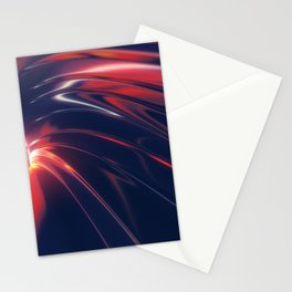 Iridescent Metal Stationery Cards
