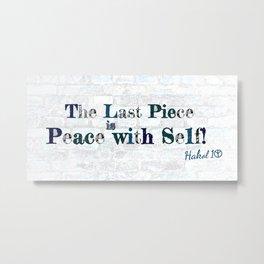 Lasting Peace Metal Print