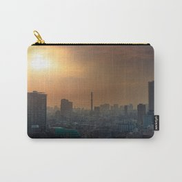 Shinjuku Tokyo, Japan skyline at sunrise with smog Carry-All Pouch