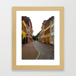 Candy Colored Streets Framed Art Print
