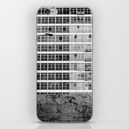Brasilia stairs iPhone Skin