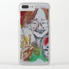 Woodstock Countdown Clear iPhone Case