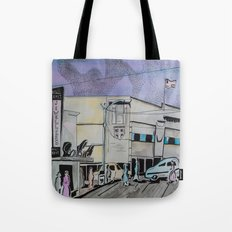 Jasper Avenue: Old Streets Grown Anew  Tote Bag