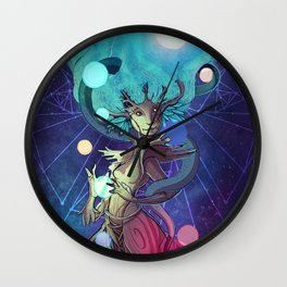 Yggdrasil, the World Tree Wall Clock