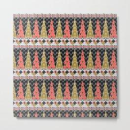 Boho Pattern 2 Metal Print