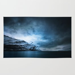 The Arctic - Storm Over Still Water Rug