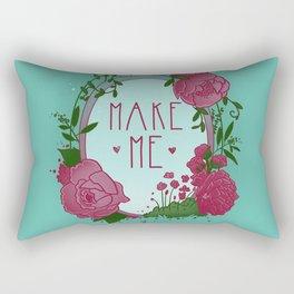 Make Me Rectangular Pillow