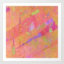 Triangle world Art Print