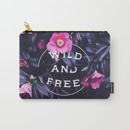 Wild and free (botanic) Carry-All Pouch