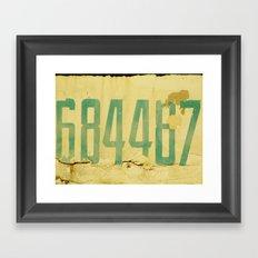 The Secret Code Framed Art Print