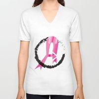 avenger V-neck T-shirts featuring Tittie Avenger by ShannonQuinn