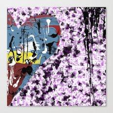 Love cushion Canvas Print