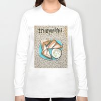 breakfast Long Sleeve T-shirts featuring Breakfast by Senchy