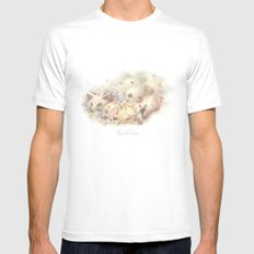 FOX Blossom White SMALL Mens Fitted Tee