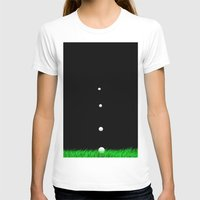 golf T-shirts featuring golf by Francesco Mestria
