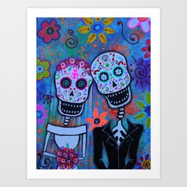 Til Death Do Us Part Art Print
