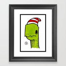 ben the turtle Framed Art Print