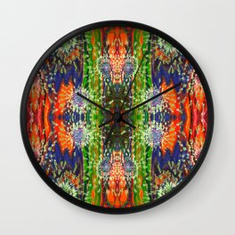 Induced Cosmic Revelations (Four Dreams, In Mutating Cycle) (Reflection) Wall Clock