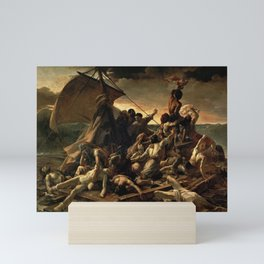 The Raft of the Medusa by Théodore Géricault Mini Art Print