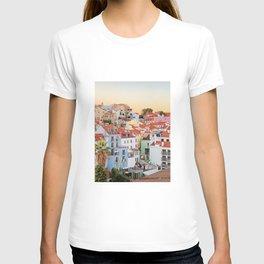 Lisbon sunset T-shirt