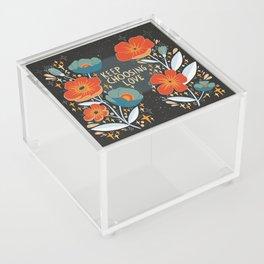 Keep choosing love Acrylic Box