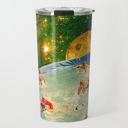 Screaming Children in Pool Travel Mug