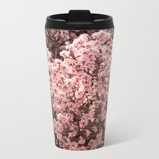 Spring Blossoms - II Metal Travel Mug