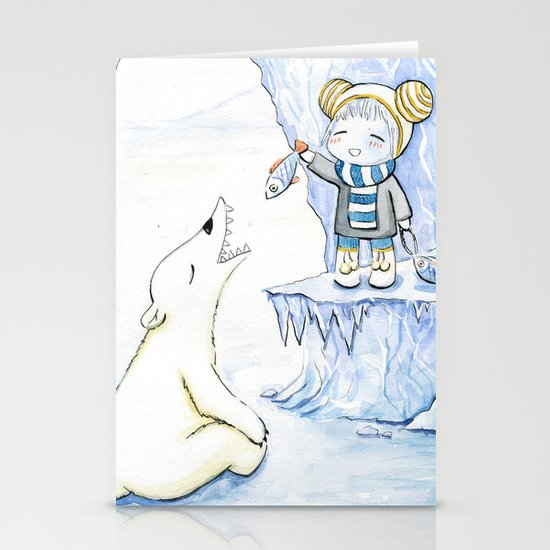 Taming 2 Stationery Cards
