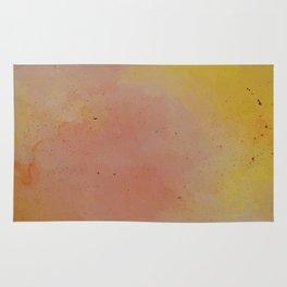 Sunset at Dusk // Watercolour Wash Rug