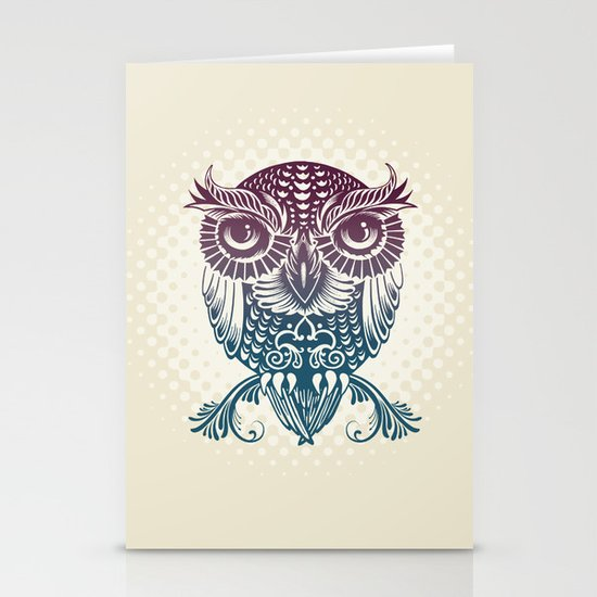 Baby Egyptian Owl Stationery Cards