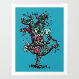 CrazyTree Art Print
