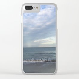 On the horizon Clear iPhone Case