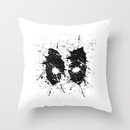 Dead Pool Eyes Splash Throw Pillow
