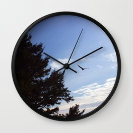 Mid flight Wall Clock