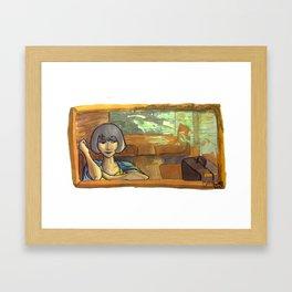 Temporary Resident Framed Art Print