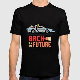 Back to the future: Delorean T-shirt