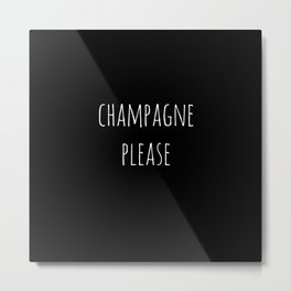 Champagne 2 Metal Print