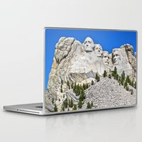 rushmore Laptop & iPad Skins featuring Mount Rushmore by astultz23