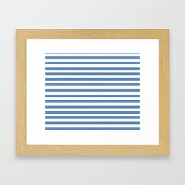 Horizontal Lines Framed Art Print