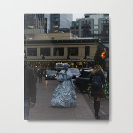 Living Statue Metal Print
