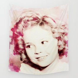 Shirley Temple Wall Tapestry