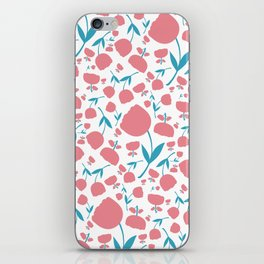 Cup Flowers iPhone Skin