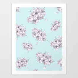 Blossom Bunch Art Print