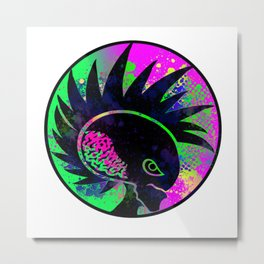 Art from chaos - Alienated Design Studio Logo Metal Print