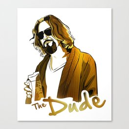 the dude gold edition Canvas Print