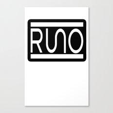 RUNO Bordered Design Canvas Print